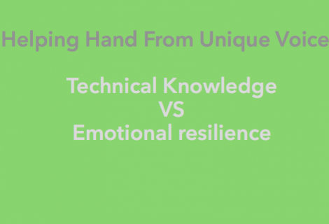 Helping Hand – Tech Vs Emotion