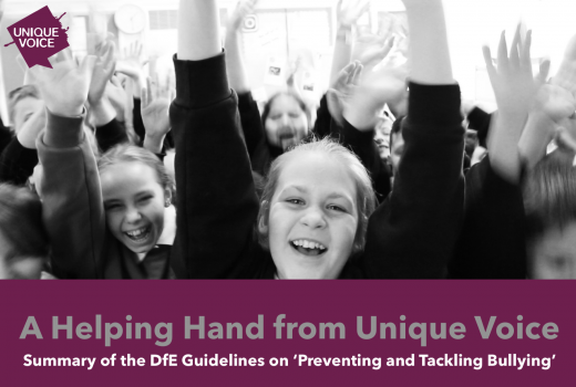 Summary of the DfE Guidelines on 'Preventing and Tackling Bullying'