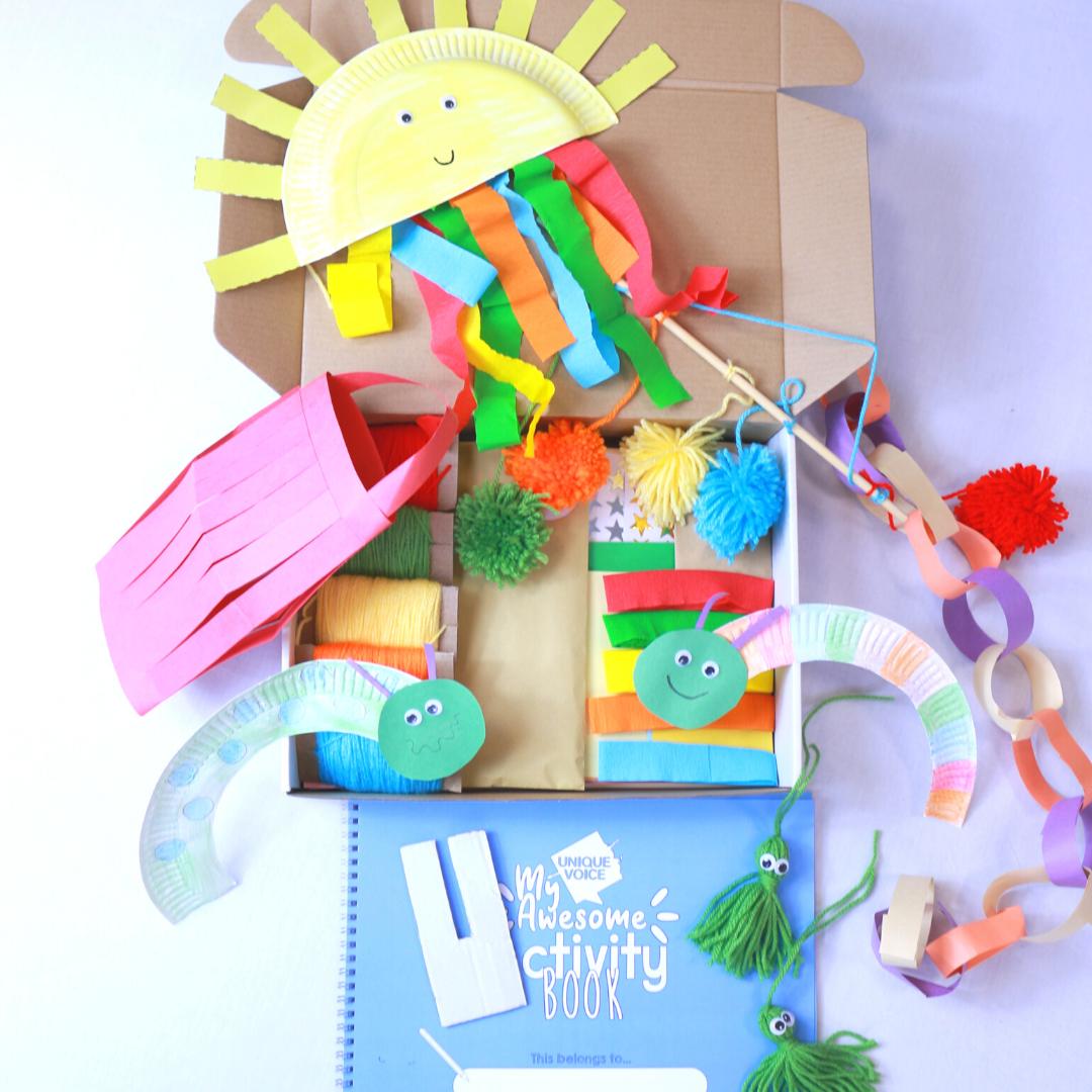Activity Book + Artbox