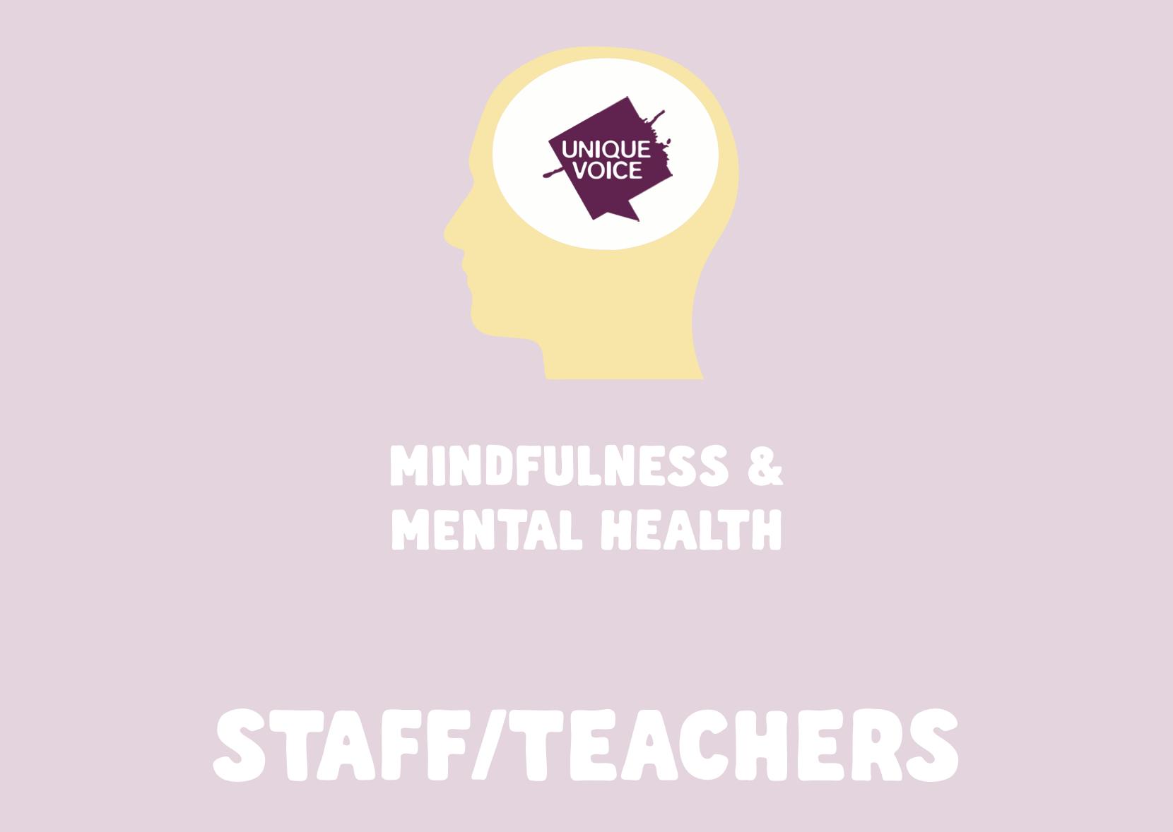 Mindfulness/Mental Health for Teachers